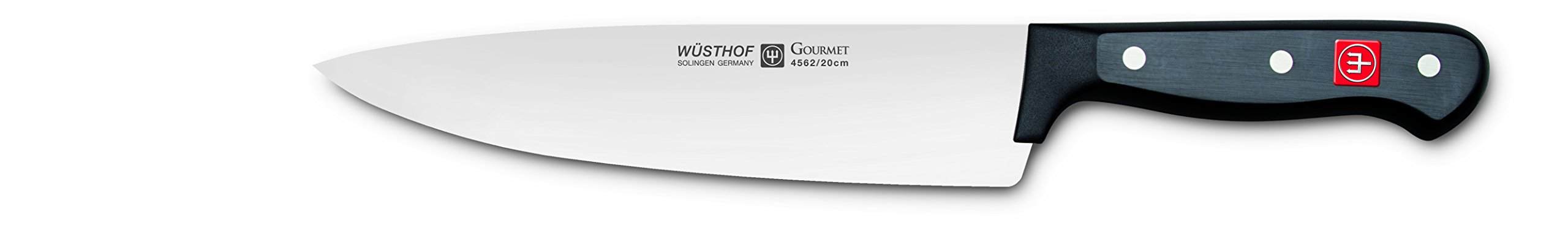 WÜSTHOF Gourmet 8 Inch Chef's Knife | Full-Tang 8'' Cook's Knife | Precision Forged High-Carbon Stainless Steel German Made Cook's Knife - Model 4562-7/20 by Wüsthof