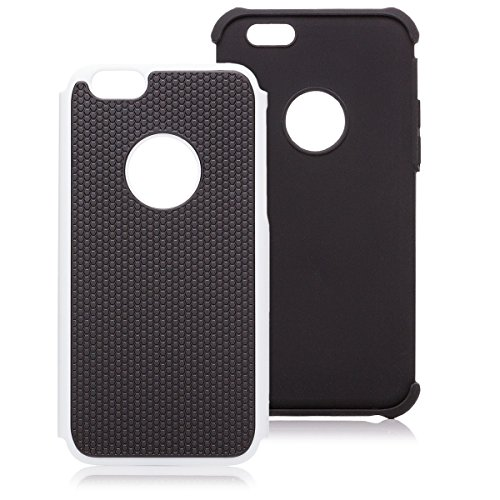 iCues Apple iPhone 6S / 6    Outdoor Case Weiss   [Display Schutzfolie Inklusive] Outdoor Dickes Hardcase Stoßfest Militär Lifeproof Männer Jungs Schutzhülle Hülle Cover Schutz