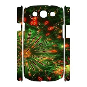 Brilliant fireworks High Qulity Customized 3D Cell Phone Case for Samsung Galaxy S3 I9300, Brilliant fireworks Galaxy S3 I9300 3D Cover Case
