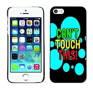 - Freaky Funny Pattern - - Monedero pared Design Premium cuero del tir¨®n magn¨¦tico delgado del caso de la cubierta pata de ca FOR Apple iPhone 5 5S Funny House