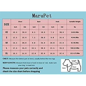 MaruPet Fashion Sweet Puppy Dog Blingbling Princess Skirt Pet Dog Lace Cake Camisole Tutu Dress Red M