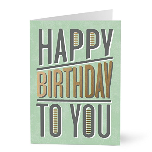 Hallmark Business Birthday 75 Pack Assorted Cards for Employees or Customers (Pack of 75 Assorted Greeting Cards for Business) by Hallmark Business Connections (Image #8)