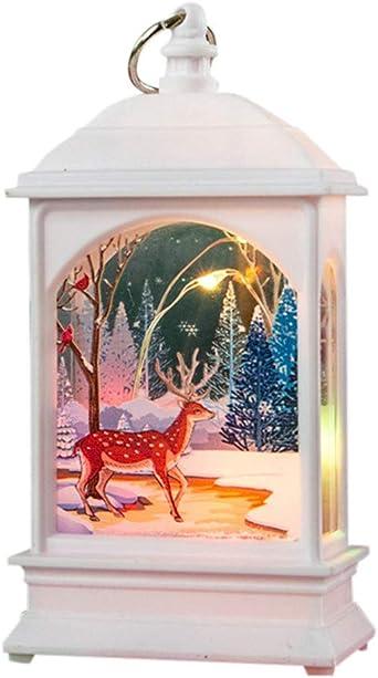 FossenHyC Velas Navidad Decoracion Interiores Mesa Vintage Adornos Navidad Luz - Navidad Decoracion Clearance Lights, Christmas,Luz de la noche para Niños Bebe Regalo: Amazon.es: Iluminación