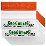 Geek Wraps MSES4IN10PK - 4 Inch Soft Edge Marine Squeegee - 10 Pack