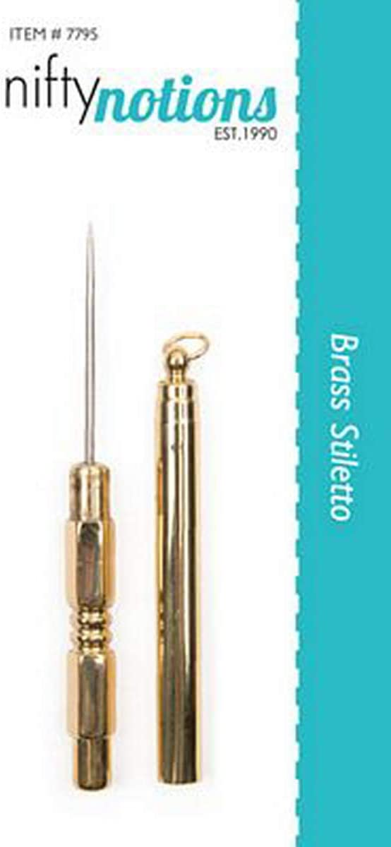 Tooltron Brass Stiletto for Sewing Machine