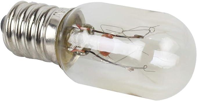 XMYX Pequeña Bombilla Edison E14 Tornillo 220V 15W Horno de ...