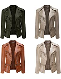 Amazon.com: XXL - Leather & Faux Leather / Coats, Jackets & Vests: Clothing, Shoes & Jewelry