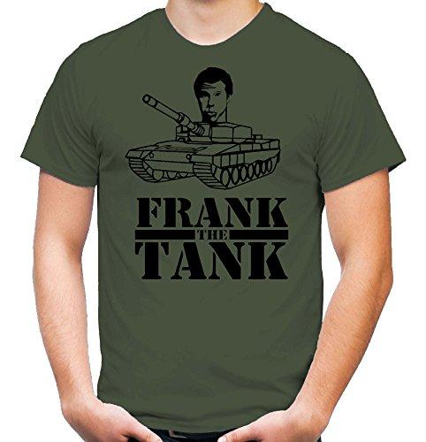 Frank the Tank T-Shirt | Old School | Will Ferrell | olive