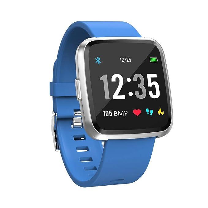 Amazon.com: Smart Watch, Waterproof Smartwatch with Full ...