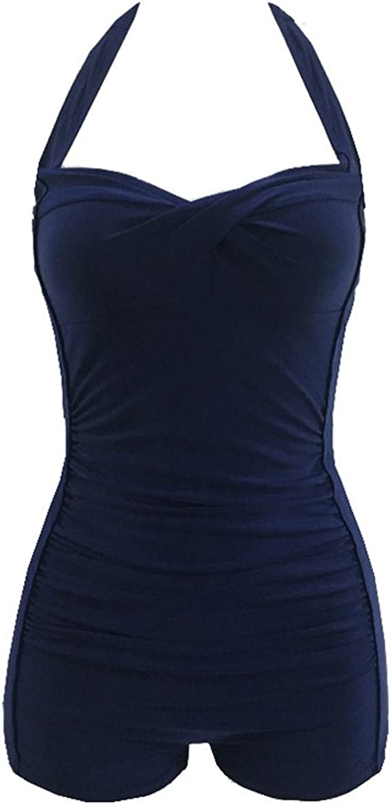 Sixyotie Maillots de Bain 1 Pi/èce Femme Amincissant Bikini Grande Taille Monokini Push up Transparent Grossesse
