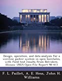 Design, Operation, and Data Analysis for a Wireline Packer System in Open Boreholes, with Field-Test Results from Belvidere, Illinois, F. L. Paillet and A. E. Hess, 1288923392