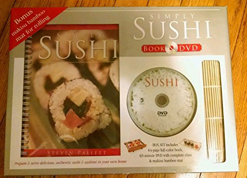 Simply Sushi Book and DVD by Steven Pallett (January 1, 2006) Ring-bound