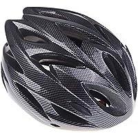 [H11138][Black]Ultralight Integrally-molded Sports Cycling Helmet with Visor Mountain Bike