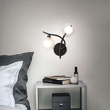 Mkjbd Linterna de Pared Lámpara de Jardín Lámpara de Pared Lámpara de Pared de Tres Colores