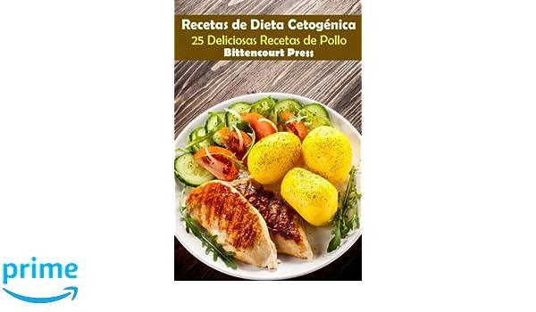 Recetas de Dieta Cetogenica: 25 Deliciosas Recetas de Pollo: Volume 1: Amazon.es: Bittencourt Press: Libros