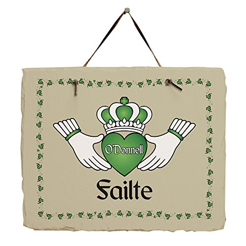 Welcome Personalized Slate - GiftsForYouNow Failte Personalized Irish Slate Plaque Sign, 11.5