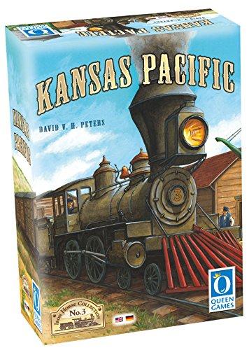 (Kansas Pacific Auction/Bidding Board Game)