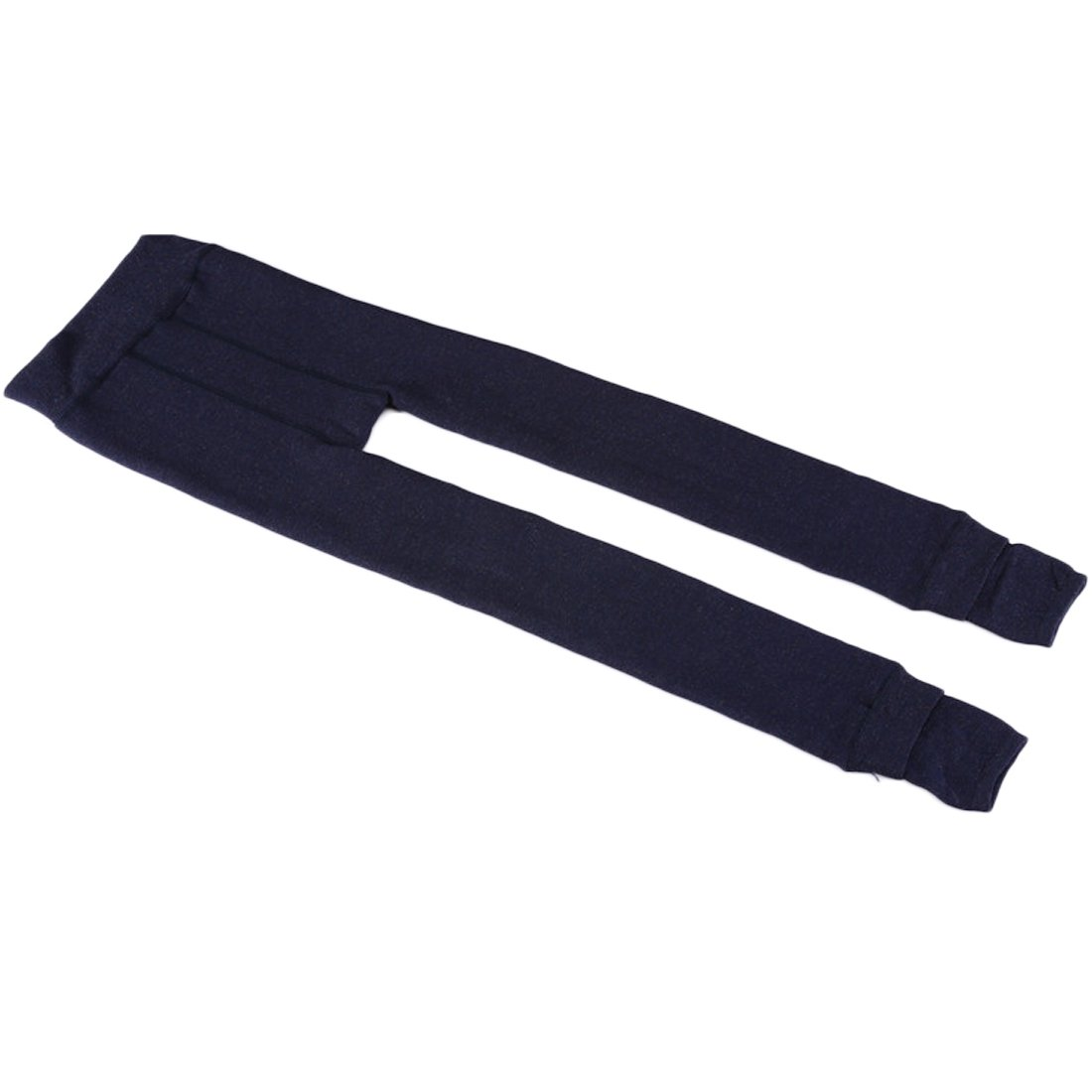 Weigou Winter Girls Leggings Pants Thick Warm Fleece Lined Thermal Stretchy Pants (L(11-14 Yeas ,Height 140-150cm), Navy) by Weigou (Image #4)