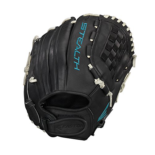 Easton Stealth Pro Fastpitch Series Outfield/Pitcher Pattern Gloves, 12.50