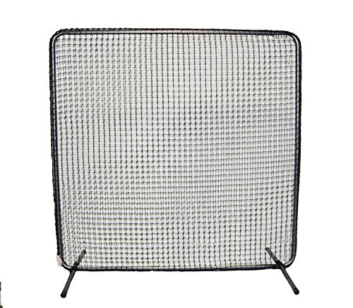 ProCage 60 Series 1st Base/Fungo Frame with Net, 7 x 7', Grey by ProCage