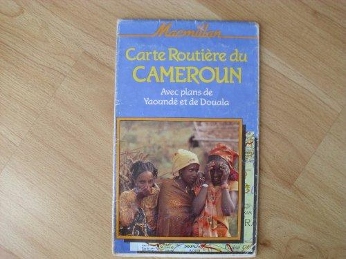 Macmillan carte routière du Cameroun avec plans de Yaoundé et de Douala =: Macmillan road map of Cameroon including plans of Yaoundé and Douala (Macmillan Traveller's Maps) (French Edition)