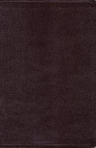 NKJV, Reference Bible, Giant Print, Bonded Leather, Burgundy, Red Letter Edition (Classic)