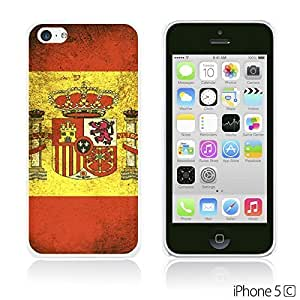 Flag Pattern Hard Back For SamSung Galaxy S5 Case Cover - Spain
