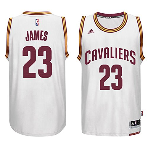 Cleveland Cavaliers LeBron James Men's Swingman Jersey White Size Small