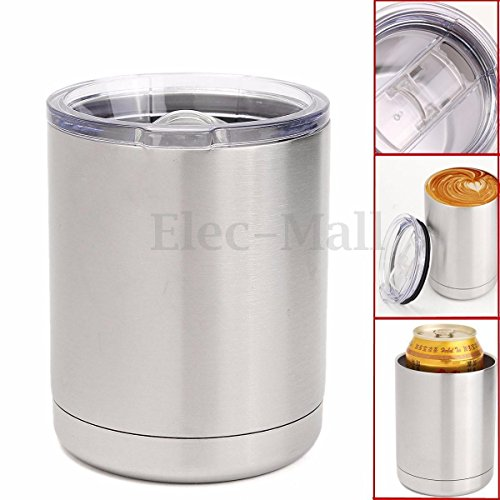 Shalleen 10 oz Lowball Tumbler Rambler Stainless Steel Vacuum Insulated Cup Travel Mug