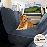 Dog seat covers for cars by YoGi Prime - LUXURY Dog Car Hammock Style Waterproof Car Seat Covers for dogs, Pet Seat protectors for Trucks SUVs - XL pet car seat covers best gift (Luxury PADDED)