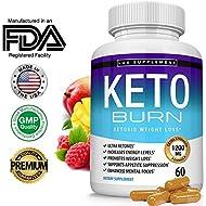Lux Supplement Keto Burn Pills Ketosis Weight Loss– 1200 Mg Ultra Advanced Natural Ketogenic Fat Burner Using Ketone Diet, Boost Energy Focus & Metabolism Appetite Suppressant, Men Women 60 Capsules
