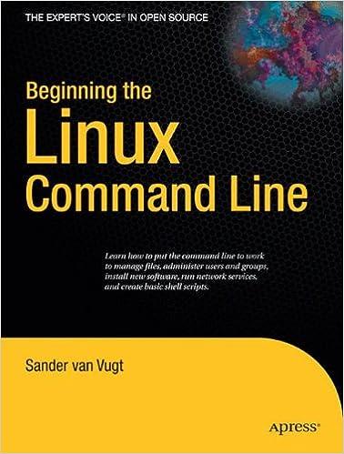 Amazon Com Beginning The Linux Command Line 9781430218890 Sander