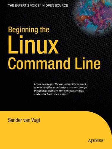 Beginning the Linux Command Line [van Vugt, Sander] (Tapa Blanda)
