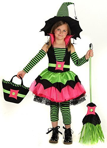 Big Girls' Spiderina Witch Costume Small (5-6) by Princess Paradise -