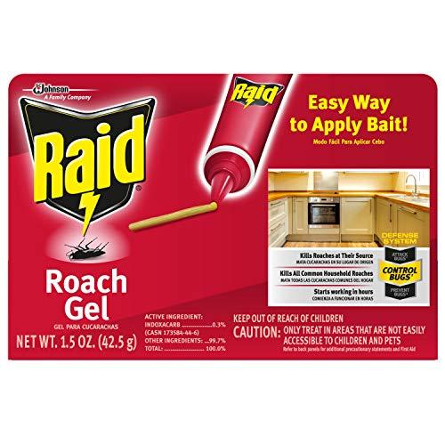 Raid Roach Gel, 1.5 Oz (1 Ct) ()