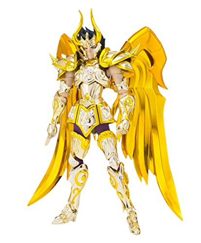 Saint Seiya Capricorn Shura God Cloth Saint Cloth Myth Action Figure - Saint Gold