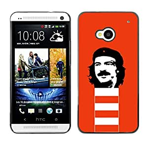 LASTONE PHONE CASE / Slim Protector Hard Shell Cover Case for HTC One M7 / Che Guevara Revolution Portrait Communism by ruishername