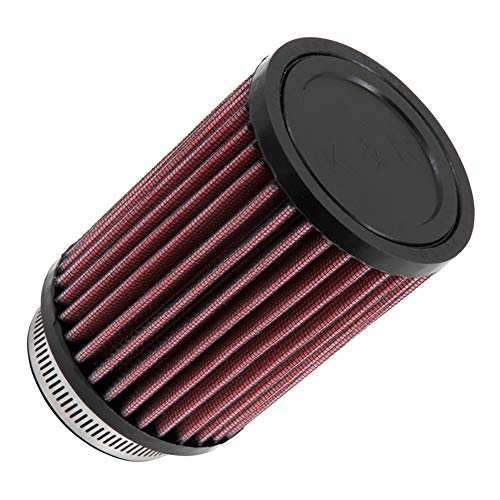 K&N Universal Clamp-On Engine Air Filter: Washable and Reusable: Round Straight; 2.5 in (64 mm) Flange ID; 6 in (152 mm) Height; 3.5 in (89 mm) Base; 3.5 in (89 mm) Top , RD-0720 (2010 Yamaha Raptor 700r Se For Sale)