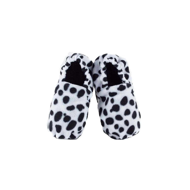 Paire chaussons chauffants micro-ondes dalmatien r2cHrnpuDx