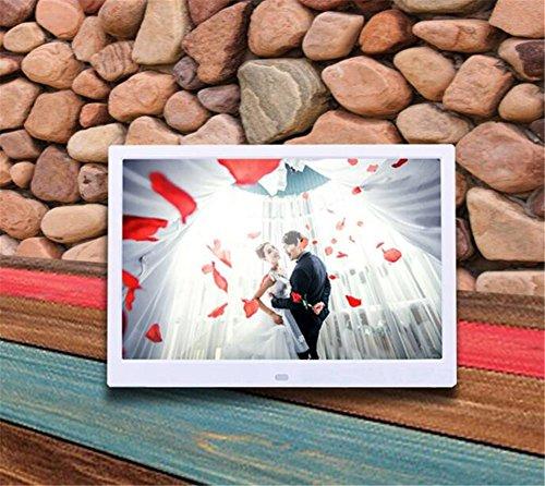 digital Fhoto13 - inch high - definition LED digital photo frame wifi version of electronic album Andrews network version of digital photo frame advertising machine , white