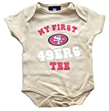 San Francisco 49ers Gold Infant Onesie Size 6-9 Months Bodysuit Creeper - My First tee