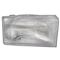 Passengers Composite Headlight Headlamp Replacement for Ford Pickup Truck SUV 1C3Z 13008 AA