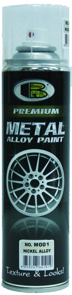 Bosny Metal Aerosol Spray Paint (200 ml, Nickel Alloy) product image