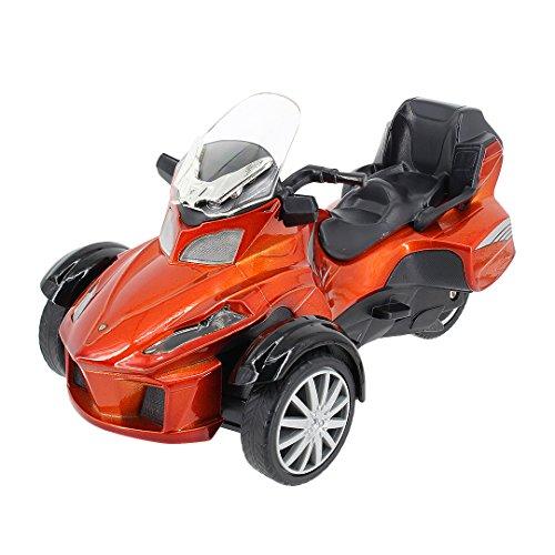 Multifit Kids 1:16 Die Cast Pullback 3 Wheel Motorcycle T...