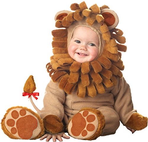 InCharacter Costumes Baby's Lil' Lion Costume, Tan, X-Small