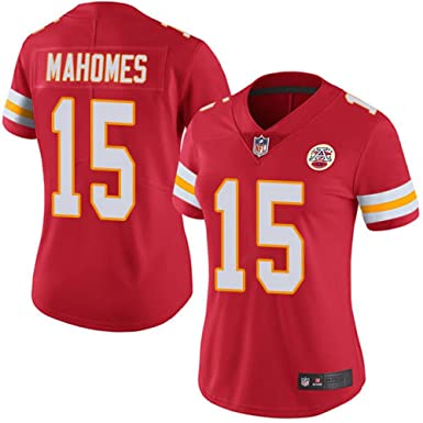 sports shoes 70054 a7eb3 Women's Kansas City Chiefs Patrick Mahomes II Red #15 Limited Jersey