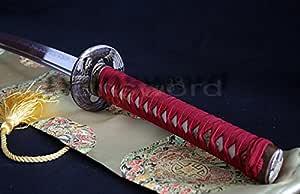 Hand Made 1095 Carbon Steel Clay Tempered Samurai Katana Sword