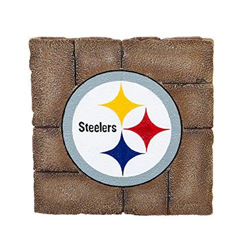 Team Sports America Pittsburgh Steelers Garden Paver Team Logo Decorative Stepping - Rock Steelers