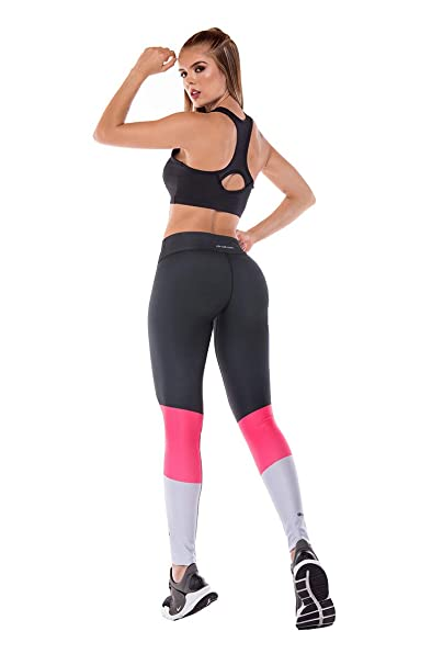 Amazon.com: Drakon Colombian Workout Leggings de cintura ...