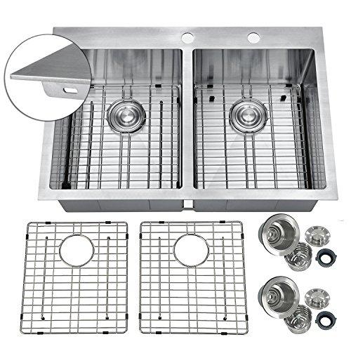 Bowl Kitchen Sink Equal (PRIMART PHT33DEX Handmade 33